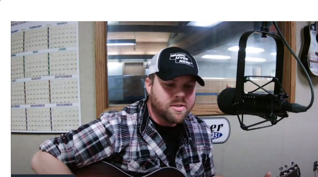 """Jason Mayer performs """"Songbird"""" 