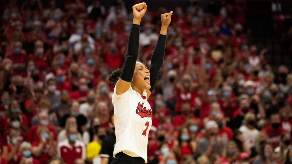 Huskers Win Over Rutgers