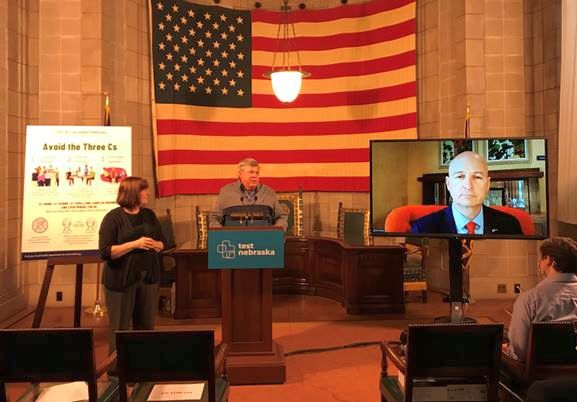Gov. Ricketts, State's Chief Medical Officer Overview Coronavirus Treatments