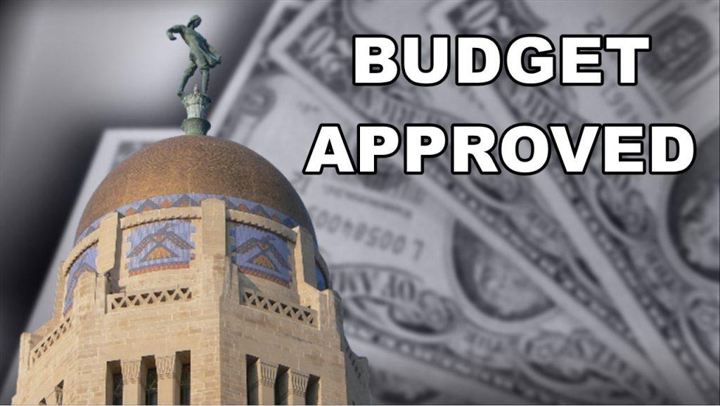 Nebraska State Budget Approved