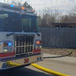 Gering Porch Fire Causes Thousands in Damage