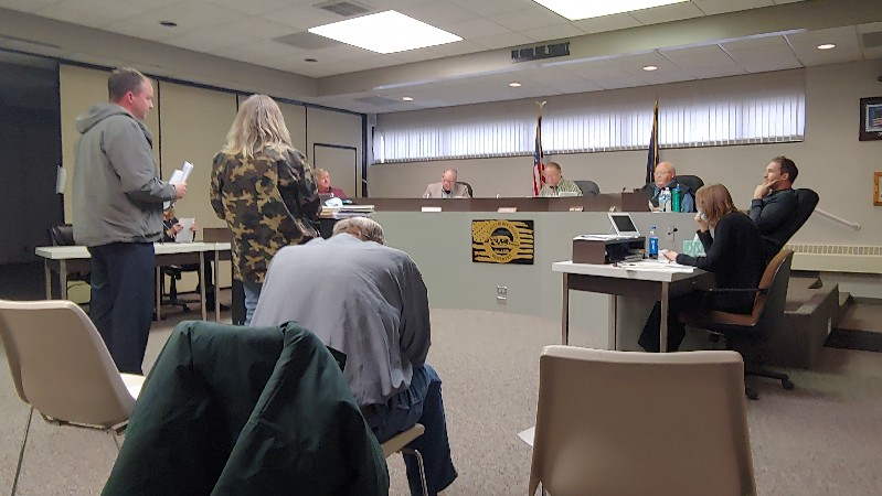 Board Defends Decision-Making Process for Stegall Road Project