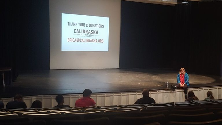 Calibraska Organizer Encourages Students to Gain Creative Arts Experience