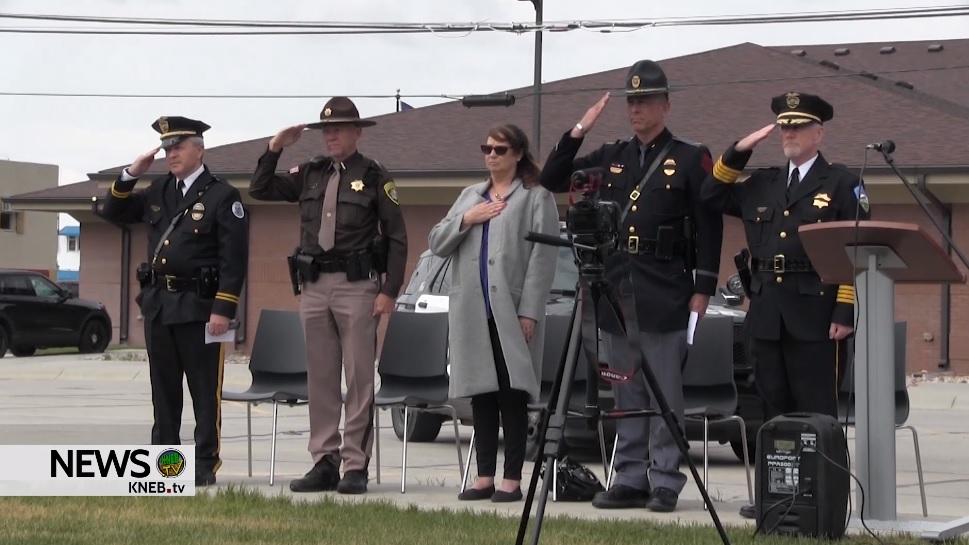 Law Enforcement Memorial Week Ceremony in Scottsbluff