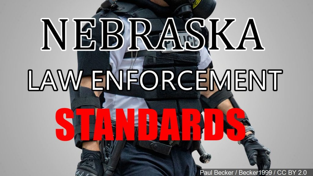 Increased Law Enforcement Standards Amended, Advanced