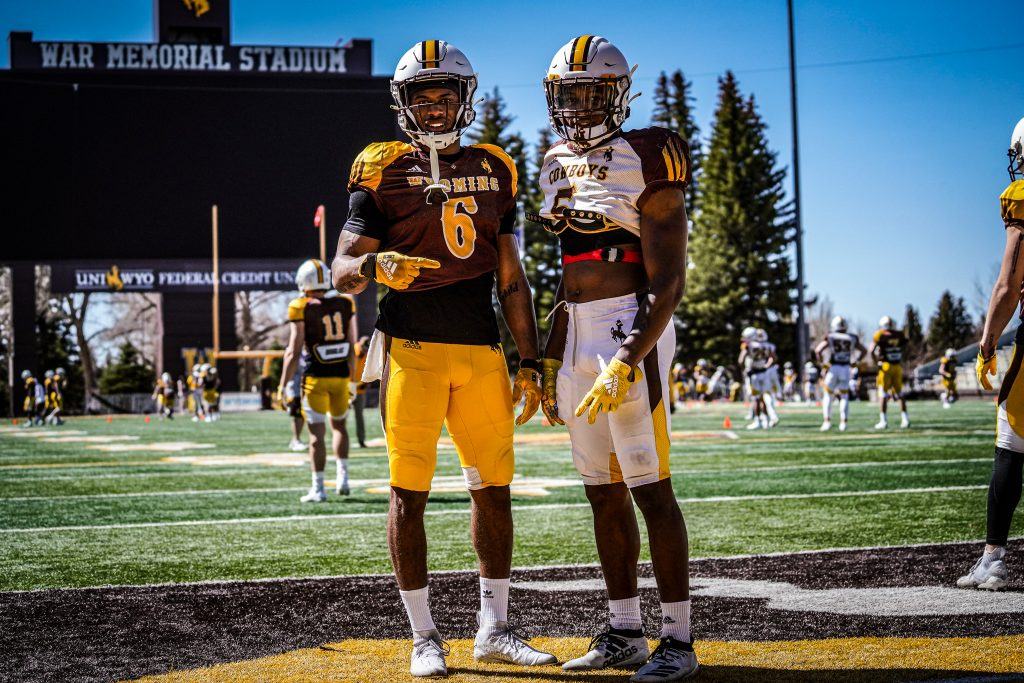 2021 Wyoming Spring Game this Saturday
