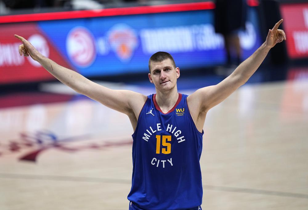 Nikola Jokic wins MVP Award