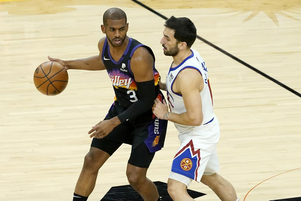 Suns rout Nuggets 123-98