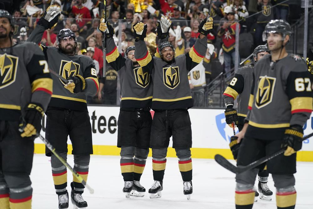Avs season ends with playoff loss to Vegas
