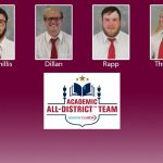 Four CSC football players named Academic All-District