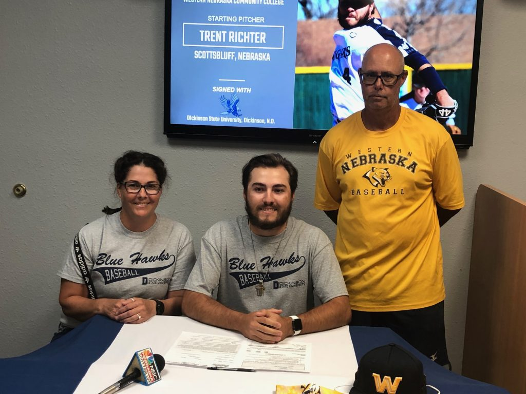 WNCC's Richter headed to Dickinson State for baseball