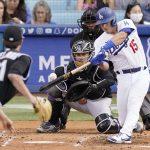 Barnes HR, Jansen bounces back as Dodgers edge Rockies 1-0