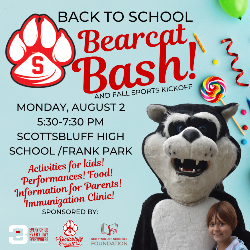 Scottsbluff High to hold Back to School Bash