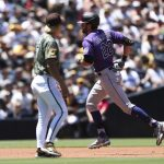 Rockies split series at Padres with Sunday loss