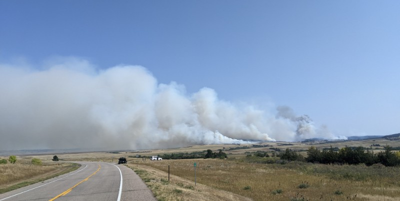 Post Fire Grows to Nearly 5,000 Acres