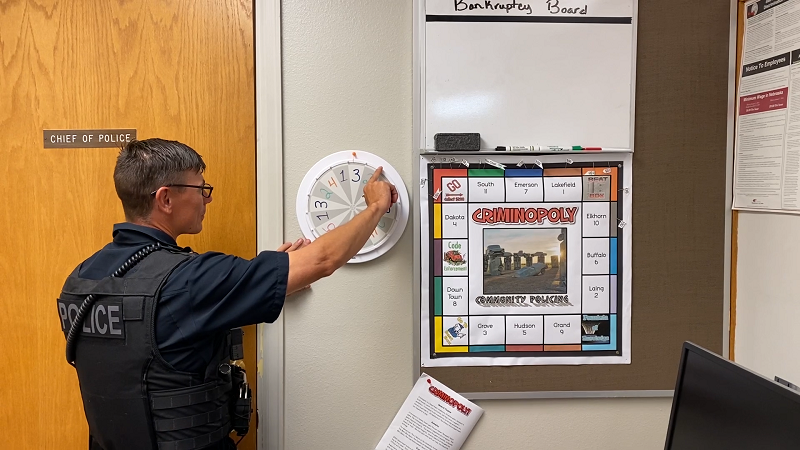 'Criminopoly' Helping Alliance Police with Community Relations, Crime Prevention in a Creative Way