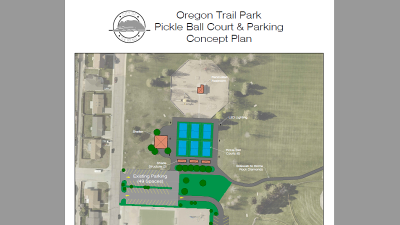 Gering Pickleball Courts Project Development Moving Forward