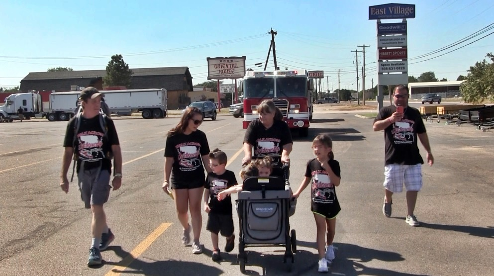 New York Man's 500 Mile Walk Across Nebraska Begins in Scottsbluff