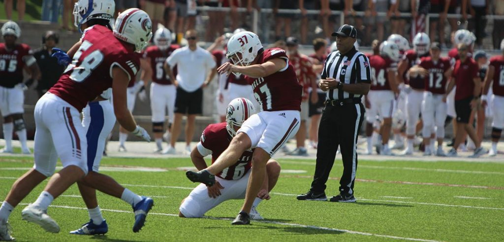 Angelo State rallied past CSC Saturday for 28-24 win