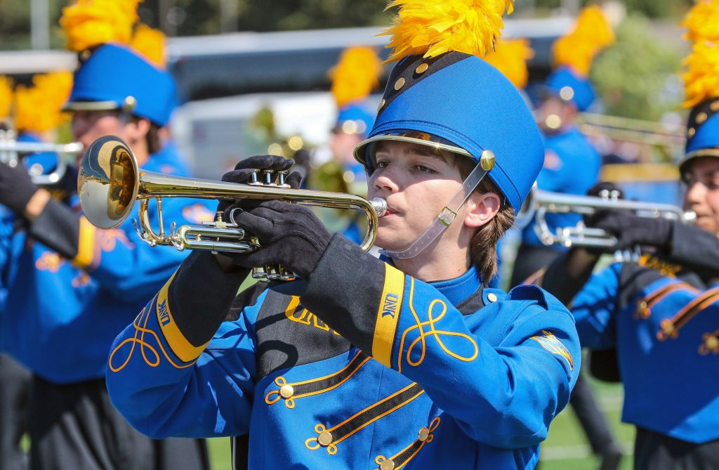 UNK Pride of the Plains Marching Band Unveils Flashy New Uniforms