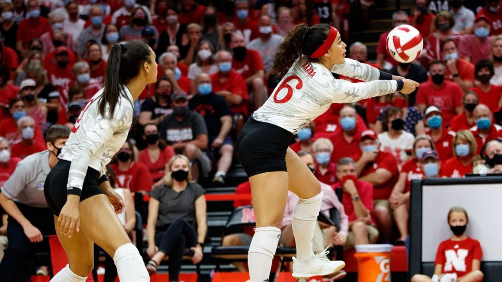 No. 6 Huskers visit No. 16 Stanford