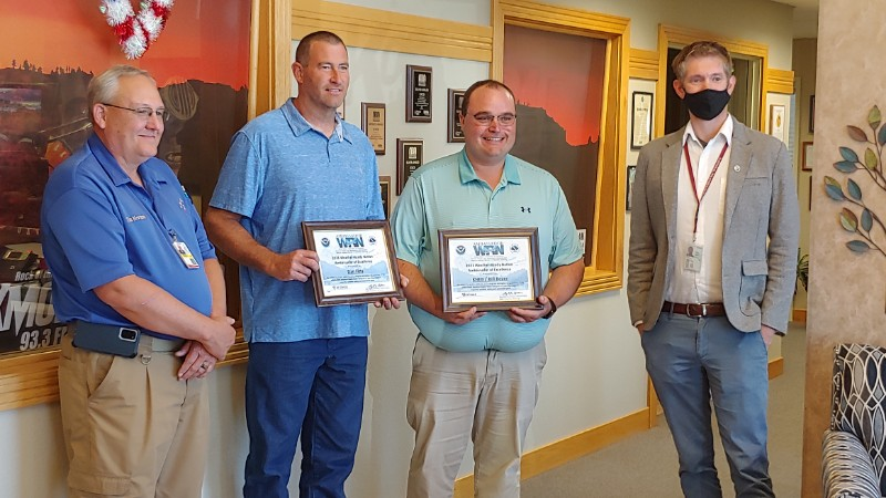 KNEB, Boyer, Fitts Named Weather-Ready Nation Ambassadors of Excellence