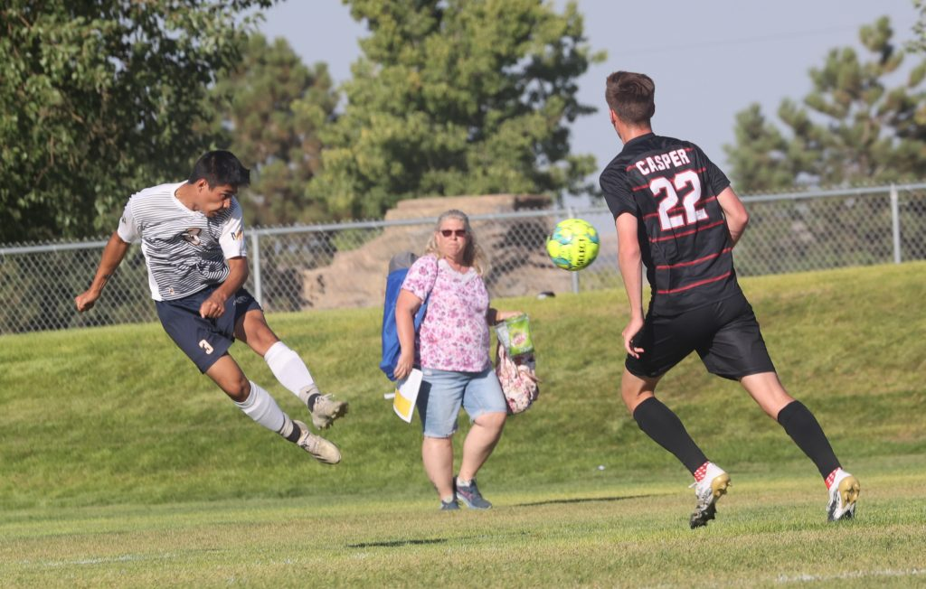 WNCC's defense gives Cougar men 1-0 win over Casper