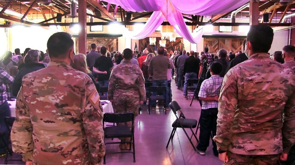 Sendoff Ceremony for 1057th Military Police Company