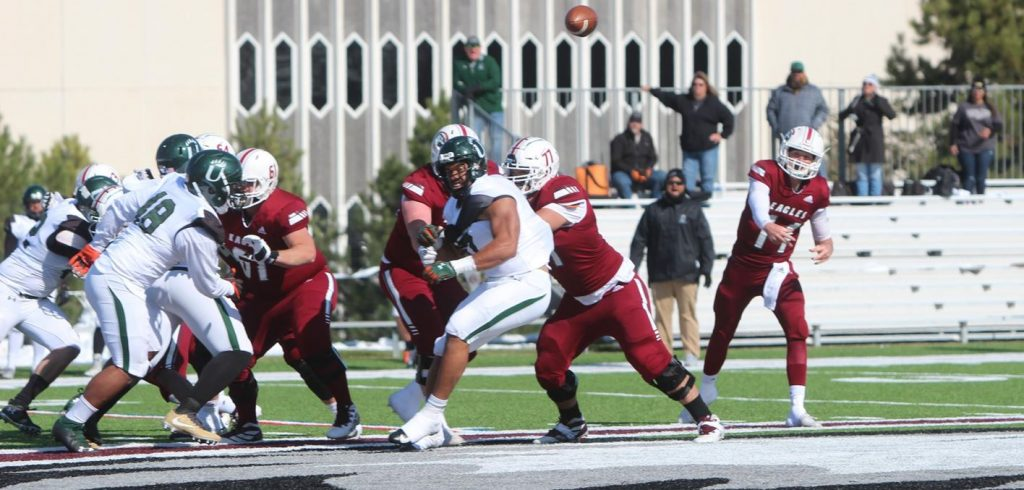 Eagles hoping to even conference record