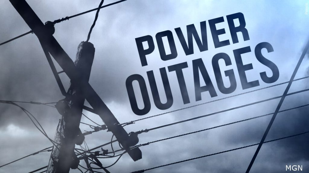 Wet Snow and High Winds Cause Power Outages