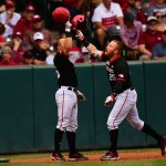 Huskers give up late runs in Regional Final loss to No. 1 Arkansas