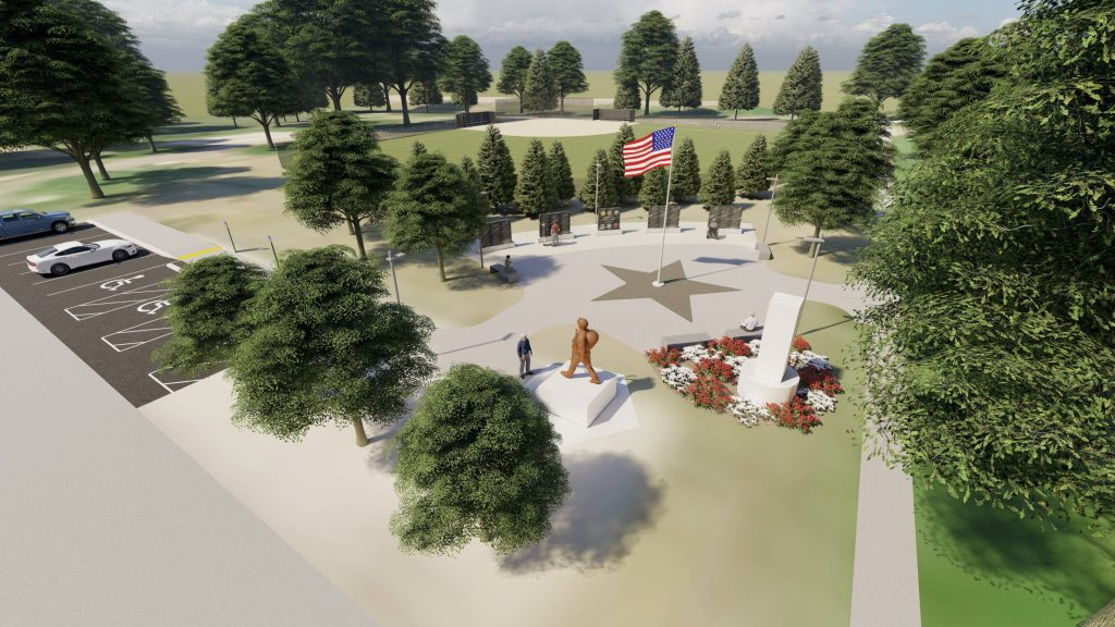 Veterans Memorial Committee Awards Bids for Holdrege Project