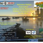 Walleye Association Tournament and Kids Fishing Day at Harlan County Reservoir