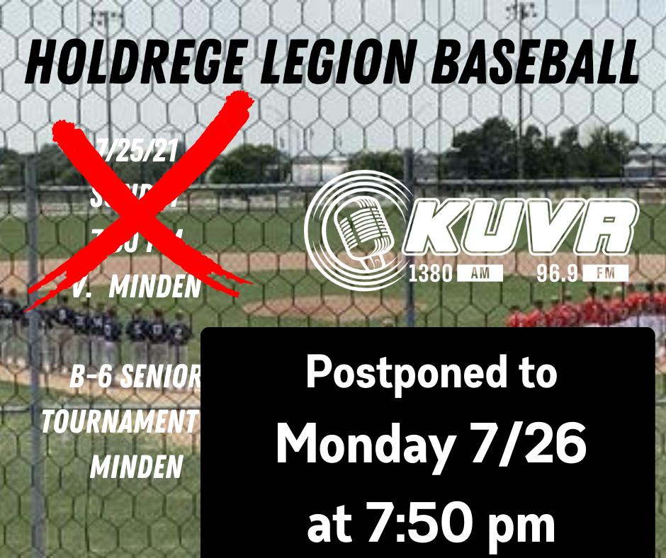 Holdrege-Minden Contest Postponed to Monday