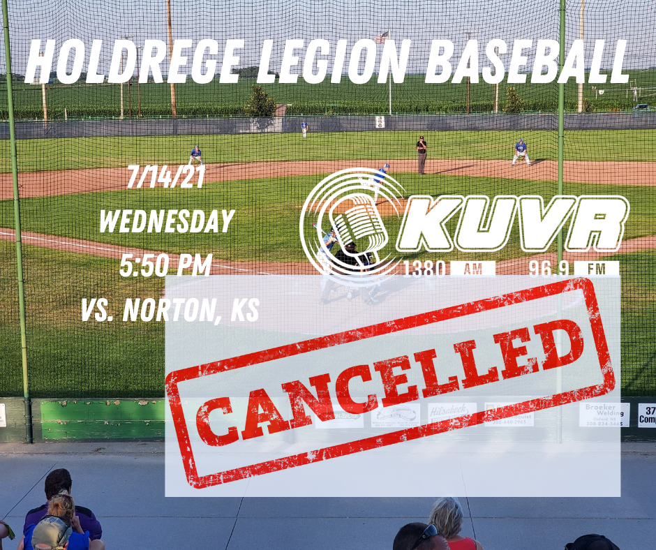 Holdrege and Norton Baseball Cancelled