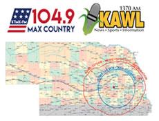 KMTX-KAWL Map graphic