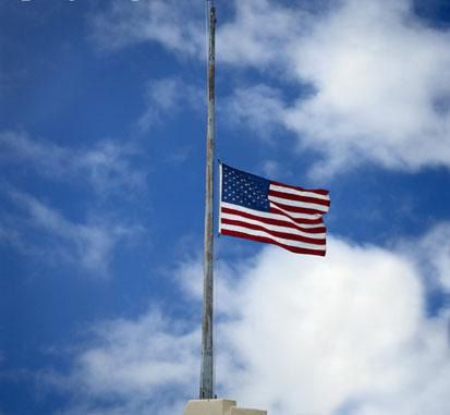 Flags to fly at half-staff for the National Fallen Firefighters Memorial Service