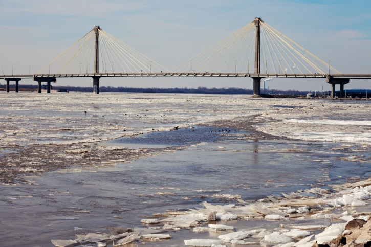 Couple, dog rescued after falling through ice on Omaha lake