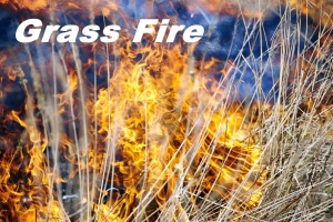 (AUDIO) Grass fire reported at Scribner Air Base