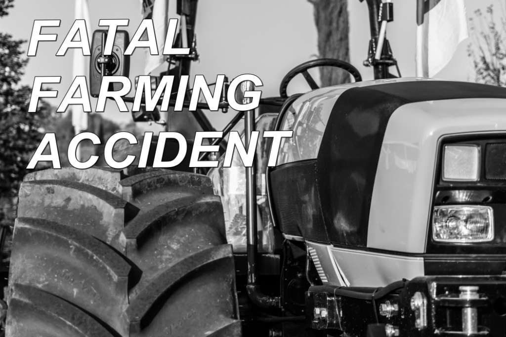 Farming accident in rural Dawson County