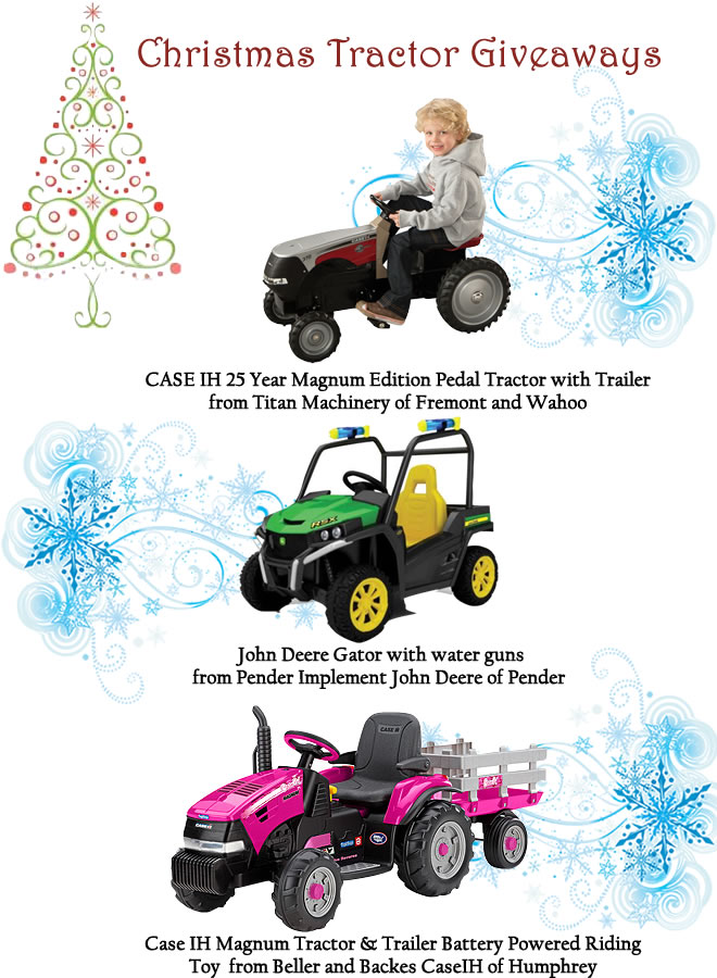 Christmas Tractor Giveaways REVISED 2015