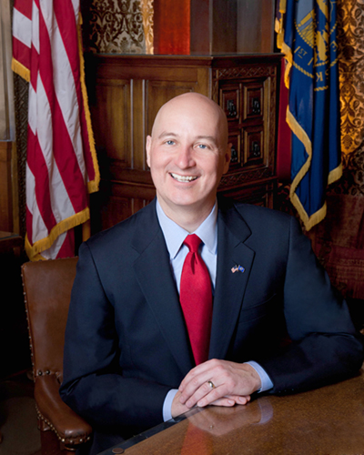 Gov. Ricketts & First Lady Shore to Quarantine