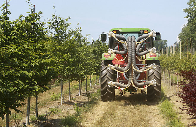 Laser-Guided Crop Sprayer Developed