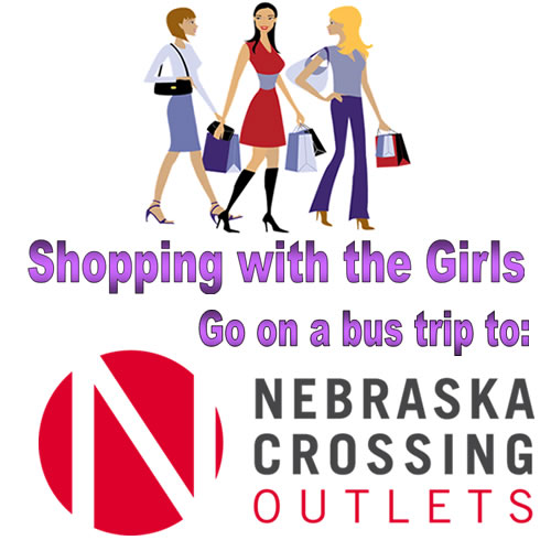 Shopping with the Girls Promotion Page graphic