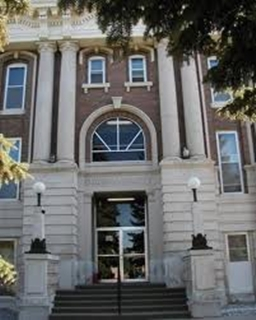 Dawson County Courthouse building to close to the public