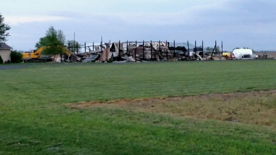 Aurora Cooperative Hangar Destroyed by Weekend Fire