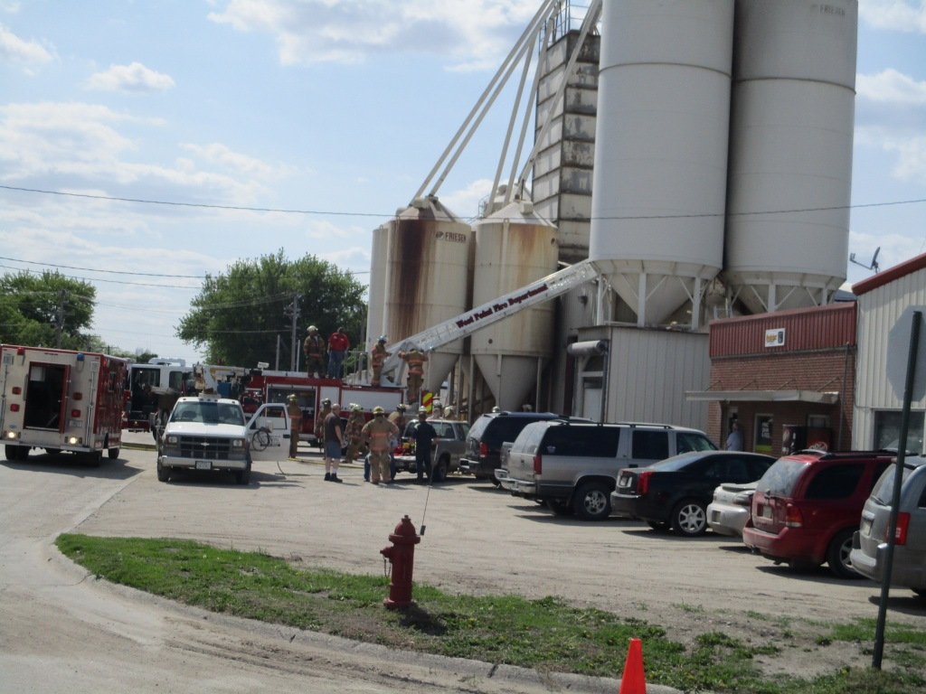 West Point Man Dies From Grain Bin Collapse