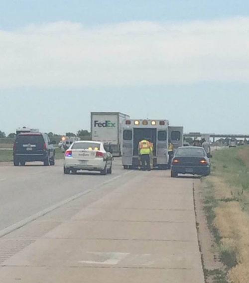 Multi-vehicle crash west of North Platte results in a