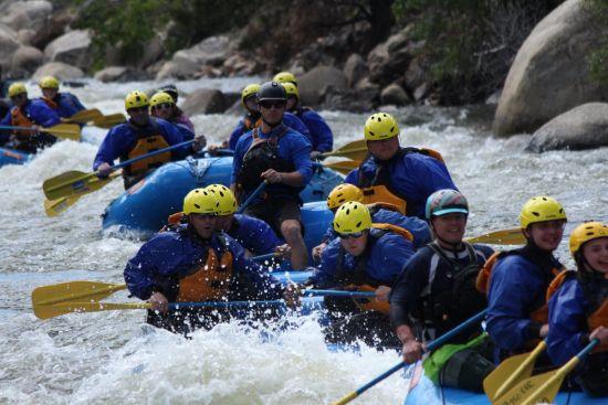 RRN/Rafting in Clear Creek in Idaho Springs.