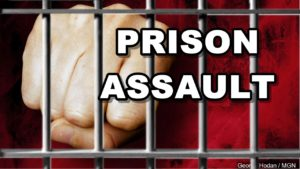Two prison workers injured when assaulted by an inmate